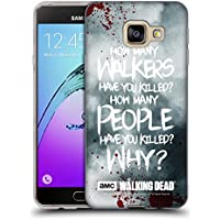 Officiel AMC The Walking Dead Rick Questions Citations Étui Coque en Gel molle pour Samsung Galaxy A3 (2016)