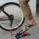 #9: Goank Amazing New Car-Styling Inflating Pump Foot Pedal Type High Pressure Air Pump