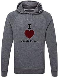 The Grand Coaster Company Love Jackie Oliver Lightweight Hooded Sweatshirt