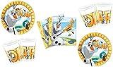 Safta Disney Frozen Olaf Muñeco De Nieve Kit de fiesta, 52 Pieza