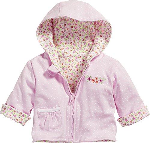 Schnizler Baby-Mädchen Jacke Wendejacke Blumen, Beige (Beige 6), - Mädchen Baby Jacke Kapuzen