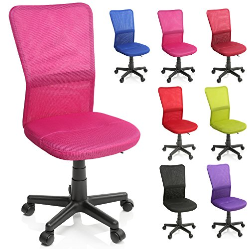 TRESKO Chaise Fauteuil siège de Bureau Ergonomique, de 7 Couleurs différentes, Lift SGS contrôl