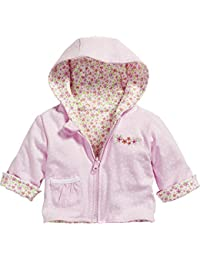 Playshoes Schnizler Baby Girls' Reversible Jacket Flowers