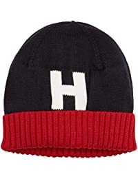 Hilfiger Denim Damen Strickmütze TH Knit Beanie Mehrfarbig (Corporate Clrs 901), One Size