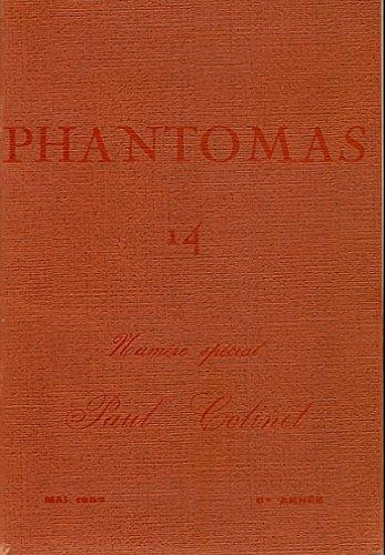 Phantomas 14. Numero spécial, Paul Colinet. Mai 1959