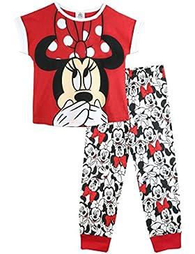 Disney Minni Maus Mädchen Minnie Mouse Schlafanzug