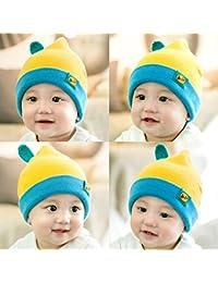 TXD Sombreros ni?os, gorras de invierno de beb¨¦, sombreros de punto gruesos, c¨¢lidos y lindos, sombreros de lana, sombreros del beb¨¦ de la manera