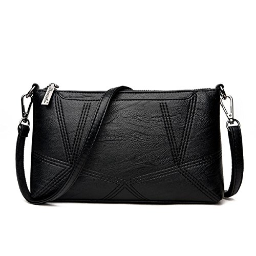 Dame Clutch Weibliche Stitching Korean Fashion Einfache Wild Messenger Bag Umhängetasche A