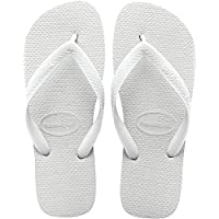 Havaianas Top, Unisex Adults' Slippers, White, 37/38 EU