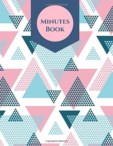 Minutes Book: Record Logbook, Meeting Minutes Notebook Journal, Secretary Notepad, Gifts for Secretaries, Office, Church, Warehouse, Club, Small ... 110 Pages. (Administrative Supplies, Band 39) -