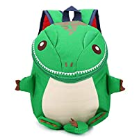 DafenQ Cute 3D Dinosaur Nursery Toddlers Backpack Kindergarten Preschool Book Bag for Baby Boys Girls