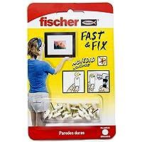 FISCHER Colgador Basico Fast & Fix, 534843, Blanco