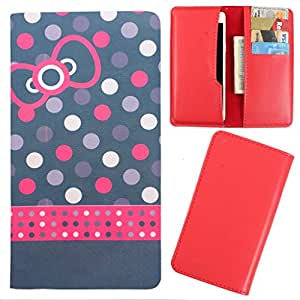 DooDa - For Micromax Canvas Selfie A255 PU Leather Designer Fashionable Fancy Case Cover Pouch With Card & Cash Slots & Smooth Inner Velvet