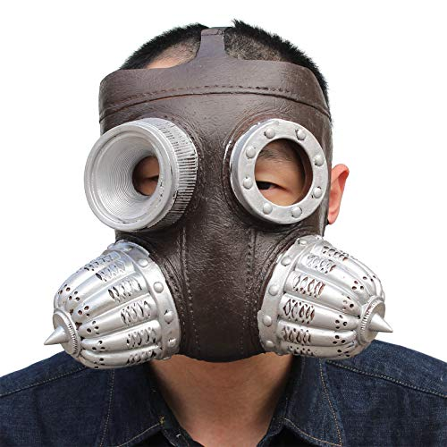 Punk Biohazard Gas Maske Halloween Maske ()