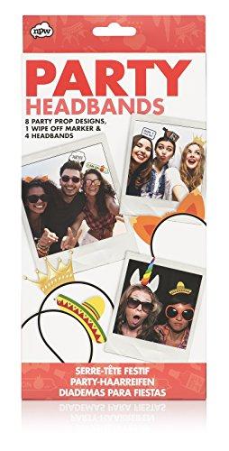 NPW Party Props Head Pieces Headwear - Photobooth Party Headbands
