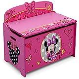 Delta Children Deluxe Toy Box, Minnie (TB84956MN)