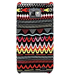 ColourCraft Tribal Pattern Back Case Cover for SAMSUNG GALAXY S2 I9100
