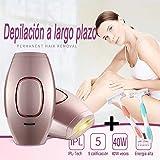 Depiladora de Luz Pulsada Depilación Sistema de Depilación IPL, LEONMAR 400000 Flashes Beauty...