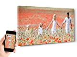 ARTESTOCK Benutzerdefinierte Drucken auf Leinwand, montiert auf Keilrahmen aus Holz, 3cm, Format 20: 10Verschiedene Maßnahmen. Panorama. 140 x 70 cm