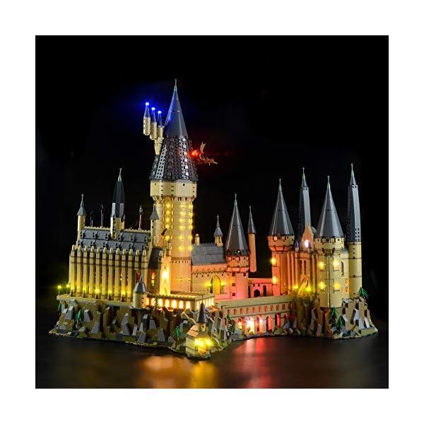 Lightailing Set di Luci per (Harry Potter Castello di Hogwarts) Modello da costruire - Kit luce led compatibile con Lego… 2 spesavip