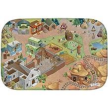 """Casa de Niños (hov0p) """"Western Ultra suave alfombra, multicolor, 130x 180x 0,76cm"""