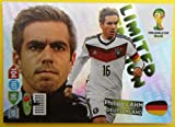 Panini Adrenalyn XL WM 2014 Brasilien - Lahm Deutschland limited Edition