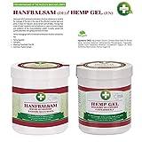Annabis Hanf Gel - Massage Gel für häufige Massage der Haut im Bereich der Muskeln, Rücken und Gelenke aus Cannabis Sativa Hanföl (300ml)