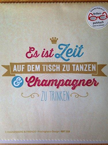 ist Zeit auf dem Tisch zu Tanzen & Champagner zu Trinken