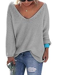 premium selection ac66b e02c5 Suchergebnis auf Amazon.de für: grauer pullover damen - Grau ...