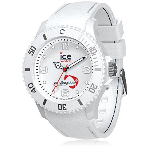 Ice-Watch - Vendée Globe White - Montre blanche pour homme avec bracelet en silicone - 007282 (Large)