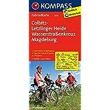 Colbitz-Letzlinger Heide - Wasserstraßenkreuz Magdeburg: Fahrradkarte. GPS-genau. 1:70000 (KOMPASS-Fahrradkarten Deutschland, Band 3042)