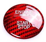 Emblem Trading Start Stop Abdeckung in Rot KEYLESS-GO Für A Klasse W176 C Klasse W205 E Klasse W213 GLC X253 GLE W166 GL X166 GLS C292
