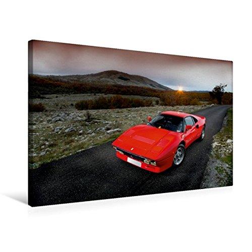 Premium Textil-Leinwand 75 cm x 50 cm quer, Ein Motiv aus dem Kalender Ferrari 288 GTO | Wandbild, Bild auf Keilrahmen, Fertigbild auf echter Leinwand, Leinwanddruck (CALVENDO Mobilitaet) (Mobilität Reifen)