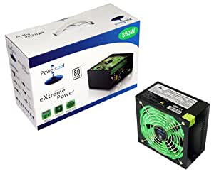 Powercool 850W 80+ Quad 12V V2.2 High Efficiency PSU - Black
