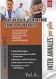 Oncologie gériatrie santé publique - 2000-2012