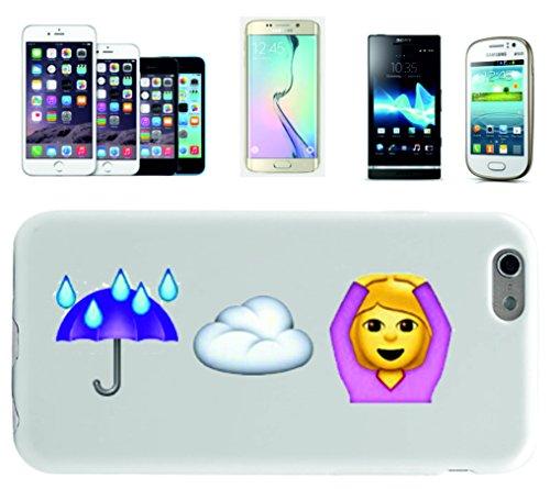 """Smartphone Case Apple IPhone 7+ Plus """"Regen (schirm) und Wolke ist gleich Hände über dem Kopf haben"""", der wohl schönste Smartphone Schutz aller Zeiten."""