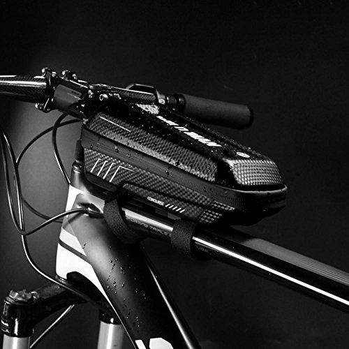 Anna-neek Fahrrad Satteltaschen Wasserdicht Trinkflasche Baonuor Klein Topeak Werkzeug mit Flaschenhalter Oberrohrtasche Aero Wedge Pack Mountainbike Bag Für Mountainbikes Fahrräder Rennräder Schwarz