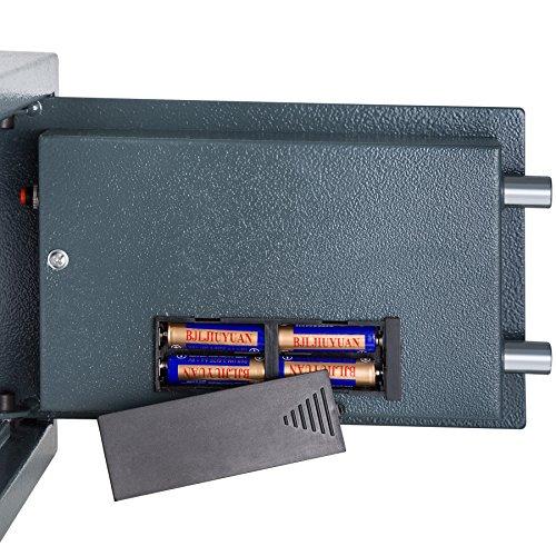 TecTake® Massiver Elektronischer Safe Tresor 20 X 31 X 22cm 4,6 kg schwarz - 5