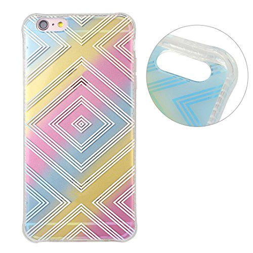 Coque iPhone 6 Silicone, Etui iPhone 6S Souple TPU, iPhone SE Transparent Case, Moon mood® Soft Gel TPU Bumpour pour Apple iPhone 6S Protection Housse Coquette Gel Coque Ultra Mince Case Cover Telepho Style-5