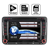 Mit 16GB SD Karte 7' AUTORADIO DVD GPS Navigation BT DAB VMCD Für VW Golf 5/6 Passat CC Tiguan Polo Jetta Up Touran Candy Sharan Amarok New Beetle 2 Scirocco EOS Skoda Seat