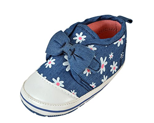 Instabuyz Shoes For Baby Girls | Kids | Children | Made Of Soft Cotton Fabric Material | Light Weight Comfortable Wearable For Infants | Designer Trendy Printed Fashionable Stylish | Perfect For Occasions Like Birthdays Parties Festivals Sandals | All Weather Sandels For Babies | Age Group 6-18 Months…