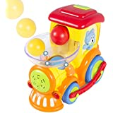 Best Choice Products Drop And Go Train Toy, Talks, Sings And Drives On Its Own 3 Activity Balls Included