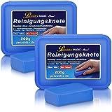 Petzoldt's 2x 200 Gramm Profi-Reinigungsknete MAGIC-Clean, Blau
