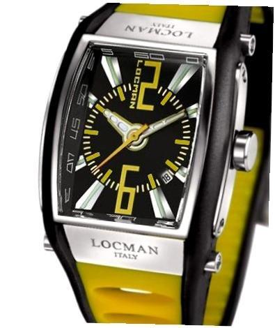 Locman 026500BKNYL5BKY Reloj de pulsera para hombre