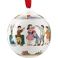 """Hutschenreuther 02252-722978-27940 sfera in porcellana 2015 """"bambini che cantano"""", diametro 6 cm"""