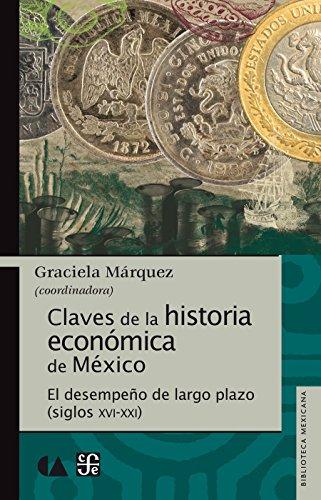 Claves de la historia económica de México. El desempeño de largo plazo (siglos XVI-XXI) por Graciela Márquez