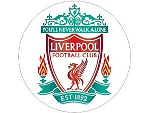 Liverpool FC Crest-55mm Round Photo Fridge Magnet by Ace Geordie Collectables