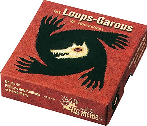 Asmodee - KG02 - Les Loups-Garous de Thiercelieux (French version of The Werewolves of Miller Hollow)