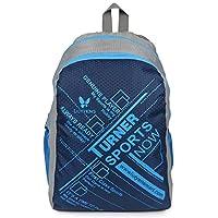 Lutyens Polyester Blue Grey School Bag(17 Litre)(Lutyens_272)