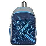 #1: Lutyens Polyester Blue Grey School Bag(17 Litre)(Lutyens_272)